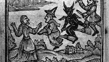 How New Printing Technology Gave Witches Their Familiar Silhouette