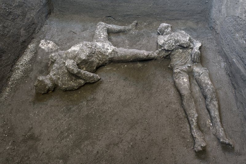 Well-Preserved Remains of Two Vesuvius Victims Found in Pompeii