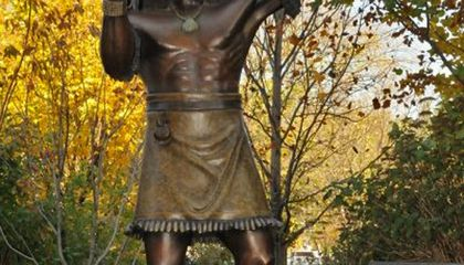 Dancing on the Mall: New Statue Represents Pueblo Culture at American Indian Museum