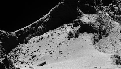 Rosetta's Comet Close-Ups Reveal Goosebumps And Very Little Ice