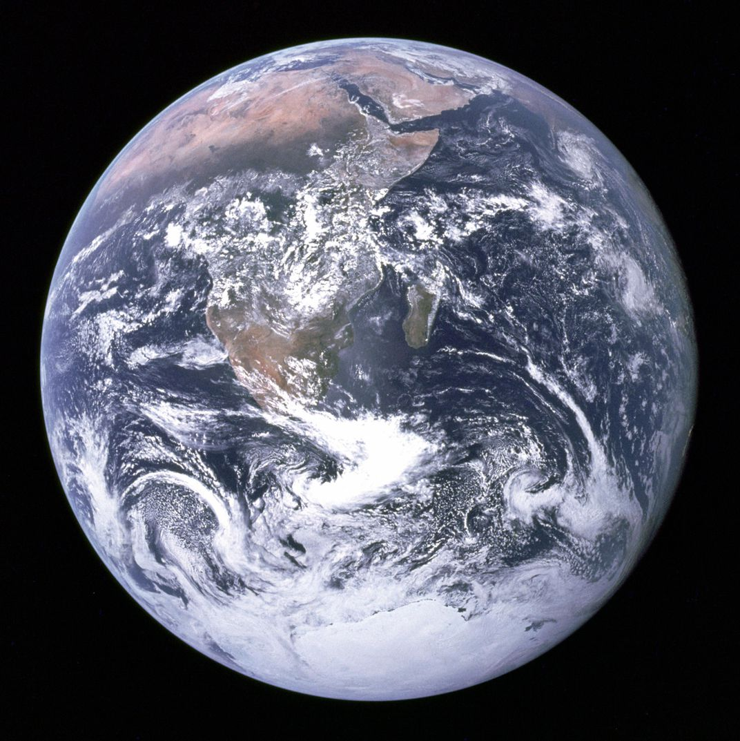 Fifty Years Ago, This Photo Captured the First View of Earth