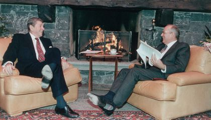 Reagan and Gorbachev Agreed to Pause the Cold War in Case of an Alien Invasion