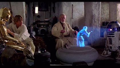 """Why Holograms Will Probably Never Be as Cool as They Were in """"Star Wars"""""""