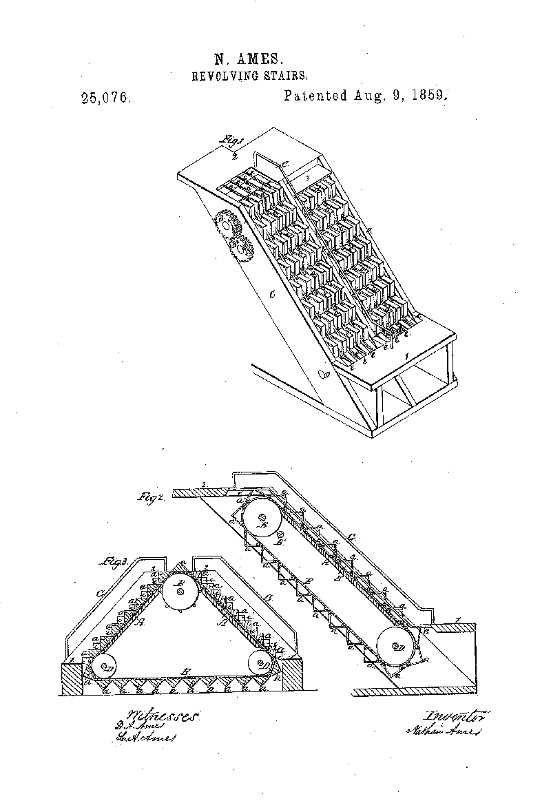Nathan Ames revolving stairs patent.png