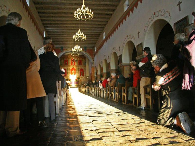 How The Sun Illuminates Spanish Missions On The Winter Solstice