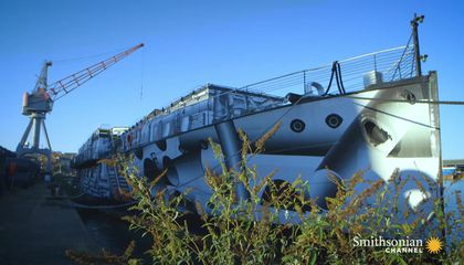 How the British Navy Camouflaged Their Ships Using Art