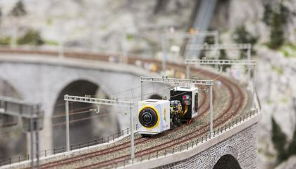 Get a Big View of the World's Largest Miniature Train Set