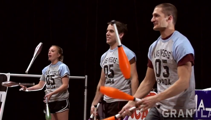 Combat Juggling Is Your New Favorite Sport, Now That You Know It Exists