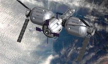 A launch this week could advance plans to build a private space station.