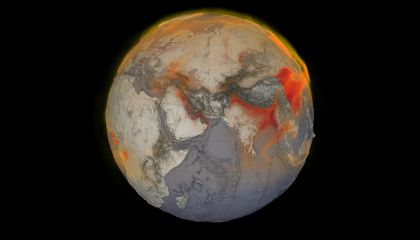 World Methane Emissions Hit New High