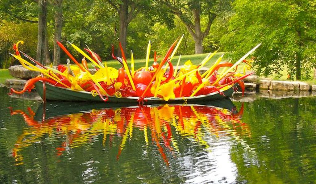 One of the many pieces on display at Cheekwood in 2010.