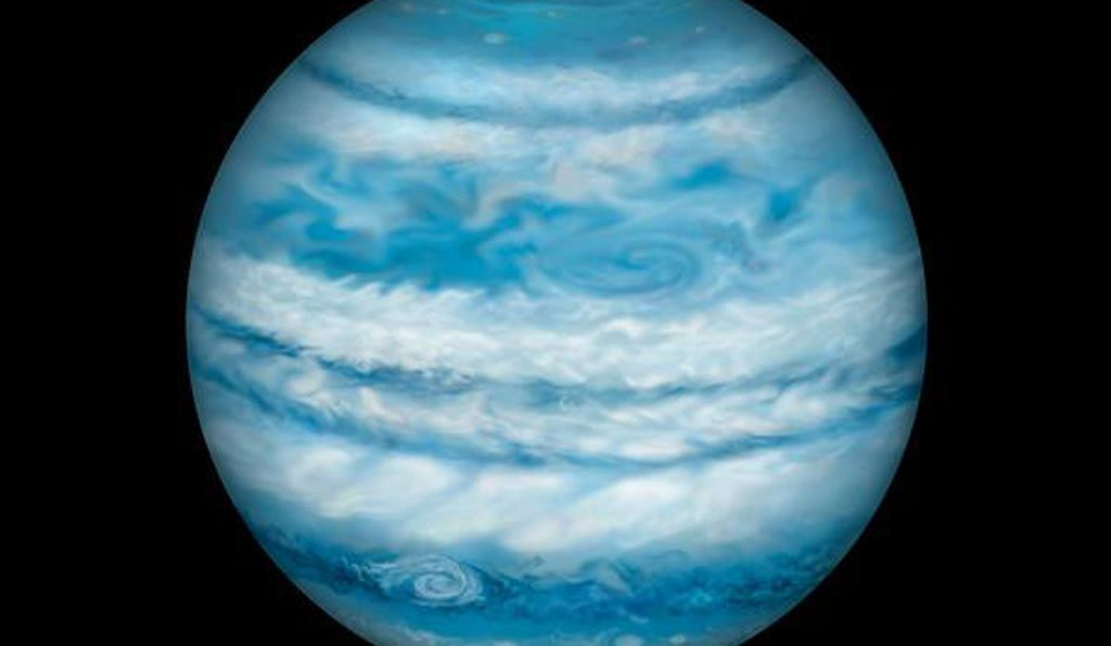 An artist's illustration of what Kepler-1647b may look like.