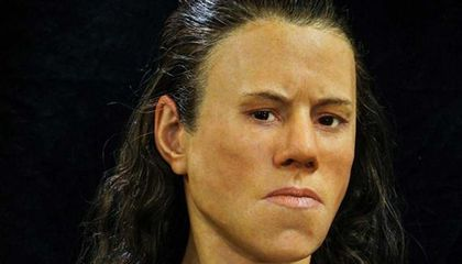Experts Reconstruct the Face of a Mesolithic-Era Teenager