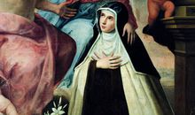 Vision of St Maria Magdalena di Pazzi from the Museo de Bellas Artes, Granada