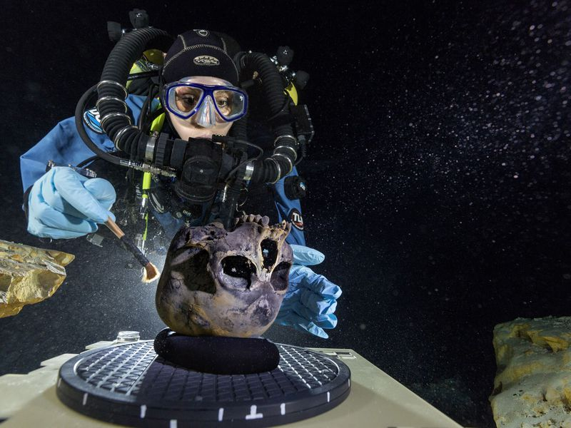 DNA From 12,000-Year-Old Skeleton Helps Answer the Question: Who