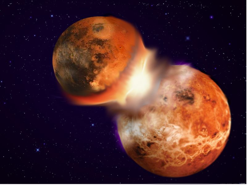 The Moon Was Formed in a Smashup Between Earth and a Near Twin ...