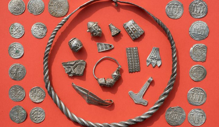 Thirteen-Year-Old Finds Viking Treasure In Germany