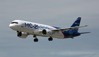 Russia's New Airliner Takes to the Skies
