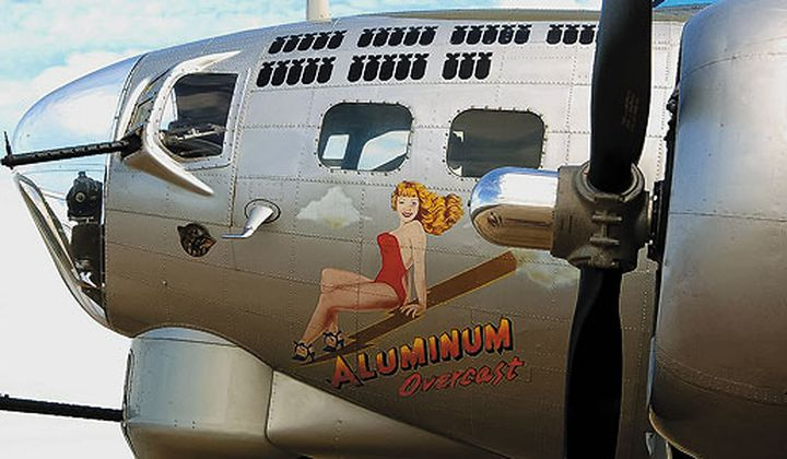 At the B-17 Co-op