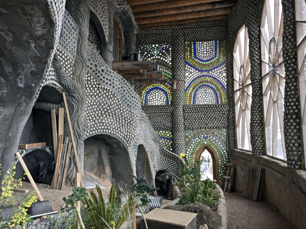 These Otherworldly Earthships Offer Visitors Unusual