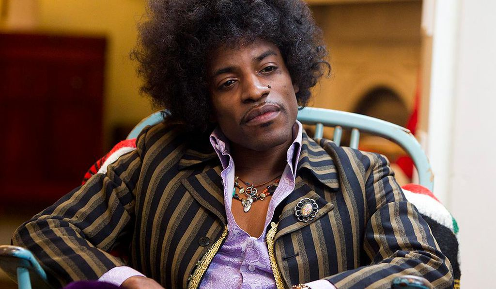 <em>Jimi: All Is by My Side</em> stars André Benjamin of Outkast and opens in theaters September 26.