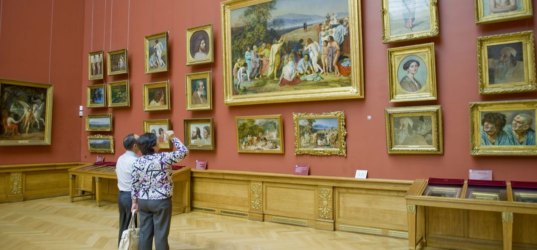 Viewing the treasures of the Hermitage Museum