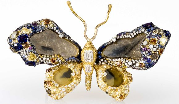 Cindy Chao Masterpiece Royal Butterfly Brooch