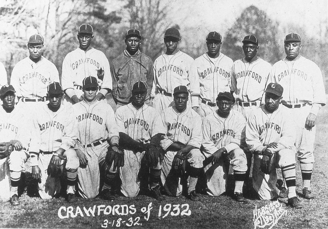 Pittsburgh Crawfords team photo