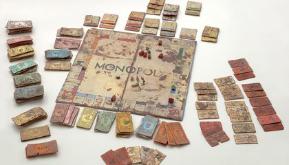 This Game of Monopoly Is Made Entirely of Clay
