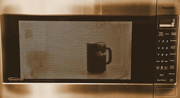 Why Microwaving Water For Tea Is A Bad