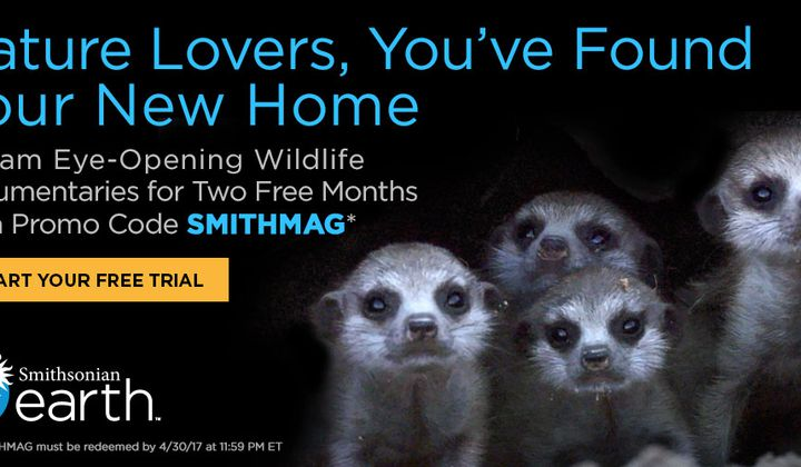 Smithsonian Earth Promo
