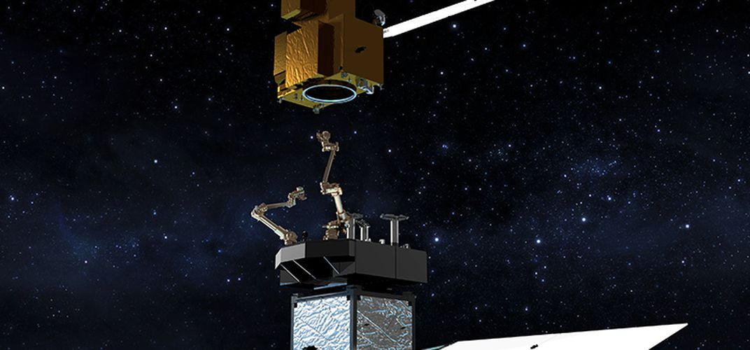 Caption: NASA Is Sending a Robotic Fueling Station to Space