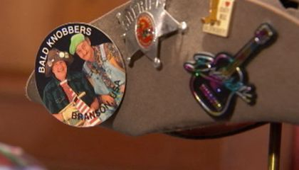 Branson's Own Baldknobbers Donate Artifacts to American History Museum