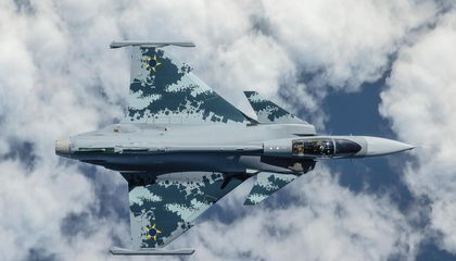 The Gripen Aims to Be the iPhone of Fighter Aircraft