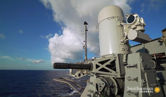Preview thumbnail for video'This Aircraft Carrier Cannon Fires 4,500 Rounds a Minute