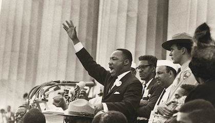 """Photos of MLK at Work: The Civil Rights Leader Before and After His """"I Have a Dream"""" Speech"""