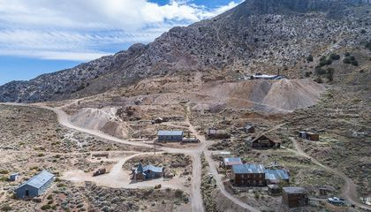 Historic California Ghost Town Is Up For Sale