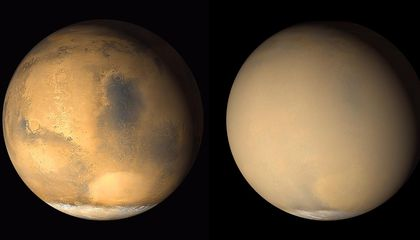 Major Martian Dust Storms Might Soon Envelope the Red Planet