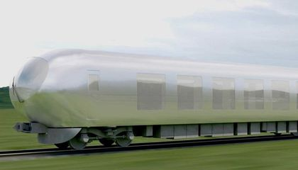"Japan Is Getting ""Invisible"" Trains That Blend into the Landscape"