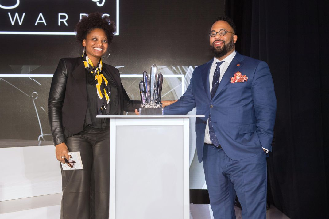 U.S. Poet Laureate Tracy K. Smith and <em>The New Yorker</em> poetry editor Kevin Young