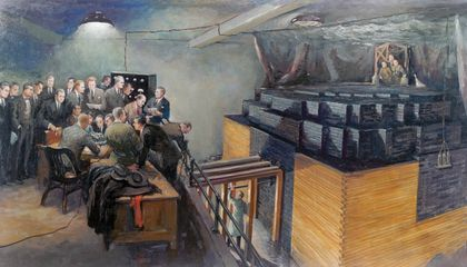The World's First Nuclear Reactor was Built in a Squash Court