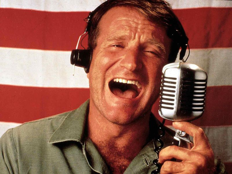 Good Morning Vietnam Drinking Game : Here s what the real people robin williams portrayed had
