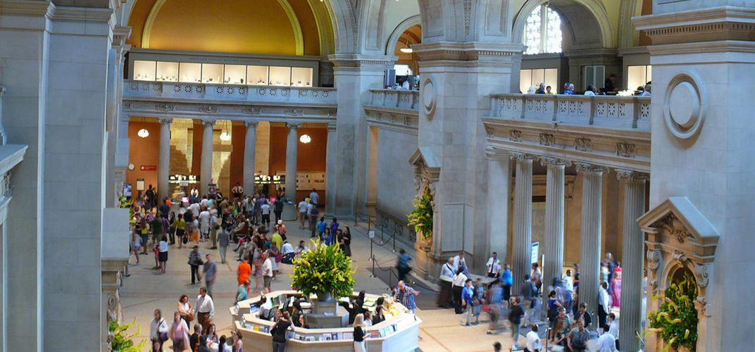 Main hall of the Metropolitan Museum of Art. Credit: Neal Fitzsimmons
