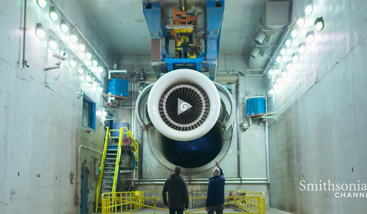 Admiring the Power and Innovation of a 747 Engine