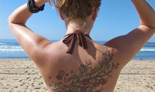 On the Beach, Men Are More Likely to Approach a Tattooed Woman