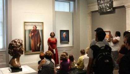 """""""Portraits Alive"""" Closes Today at the National Portrait Gallery"""