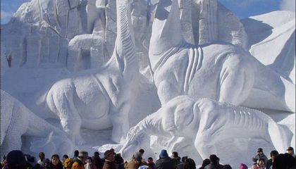 Blog Carnival #17: New Paleoblog, Sauropod Snow Sculpture, Young Earth Creationists and More...
