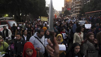 In Egypt, 99 Percent of Women Have Been Sexually Harassed
