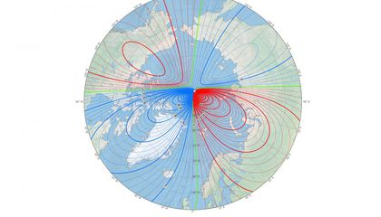 Magnetic North Is Cruising Toward Siberia, Puzzling Scientists