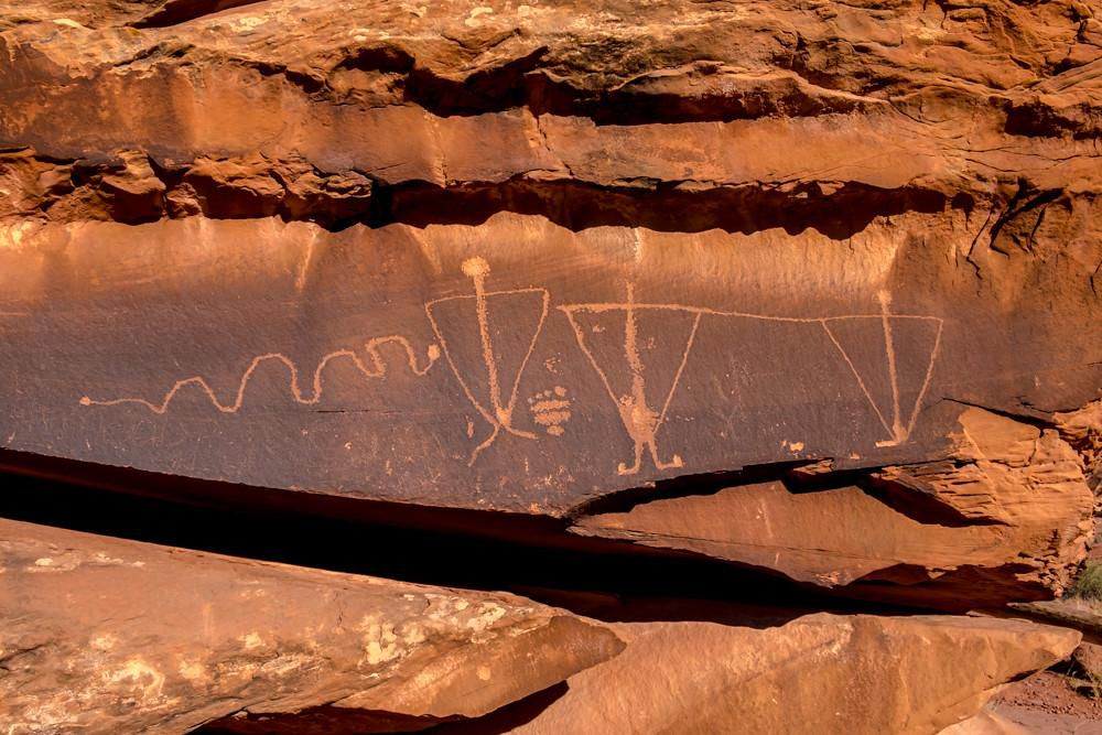 Racist Phrase Found Etched on Native American Petroglyphs in Utah